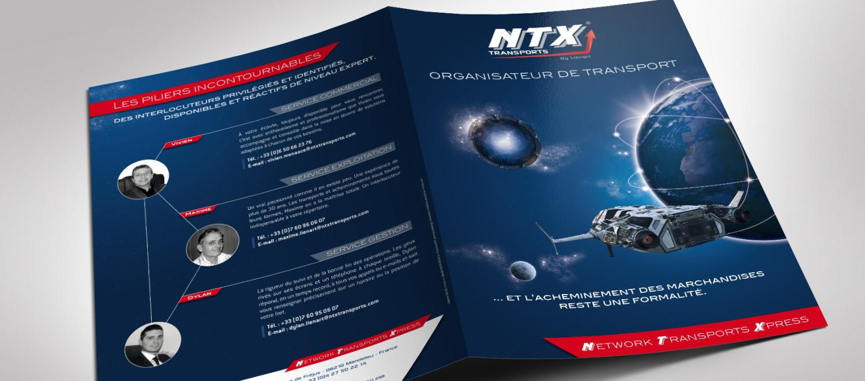 Dépliant NTX Transports