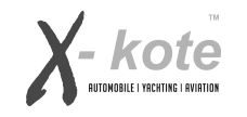 X-kote automobile, yachting, aviation