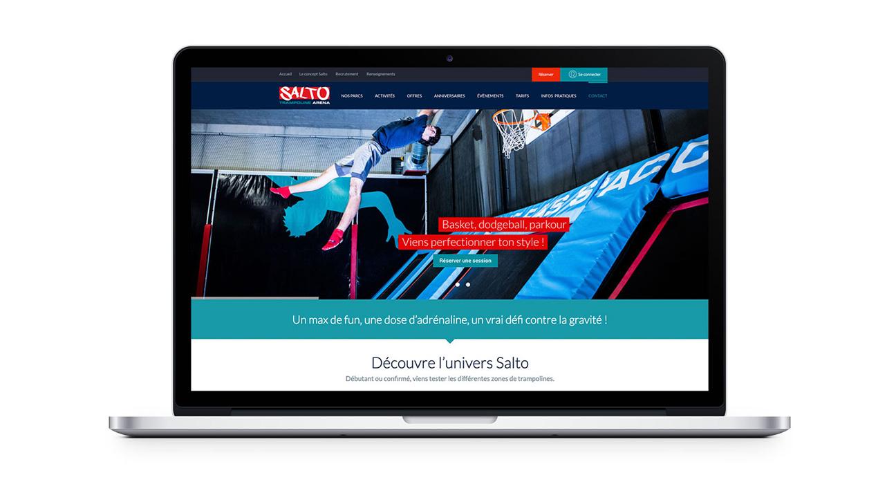 Création site internet Salto