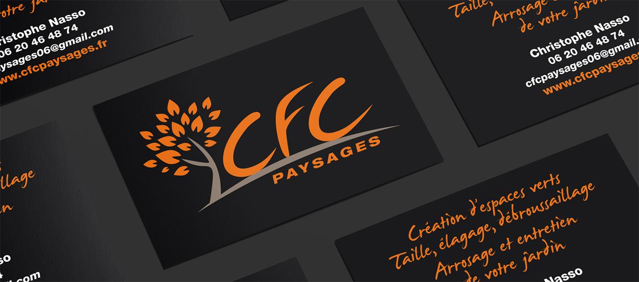 cartes de visite CFC paysages