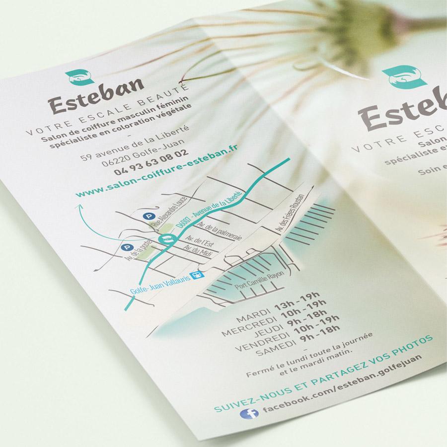 Esteban coiffeur Golfe Juan coloration végétale