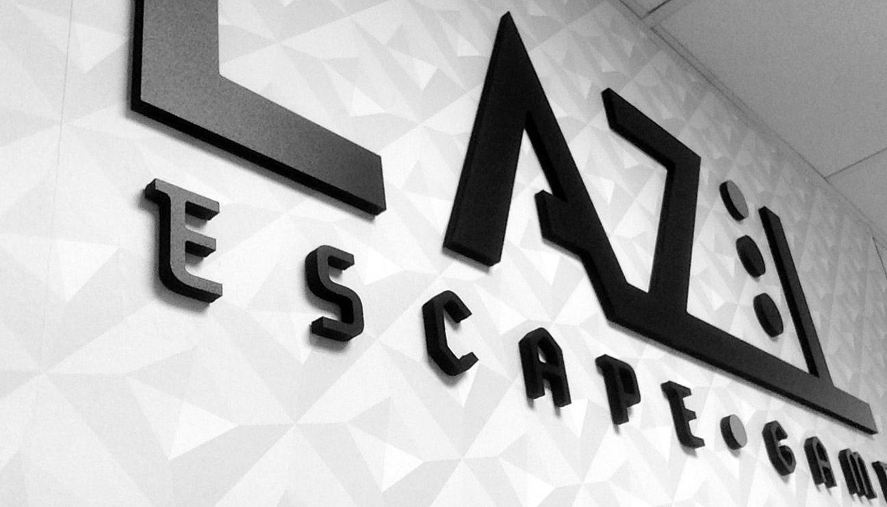 Signalétique enseigne L'Azil Escape Game
