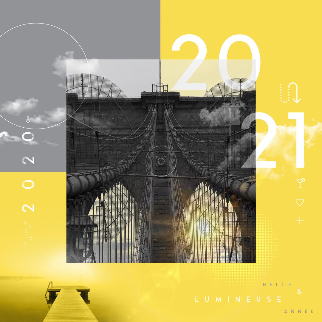 Belle et lumineuse année 2021